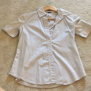 Petite theory dress shirt